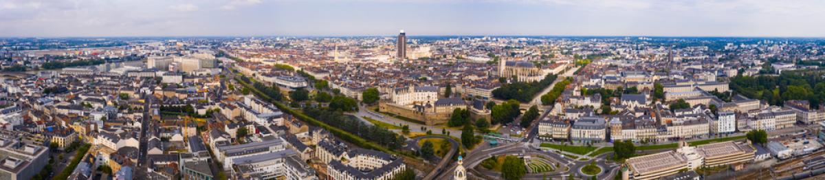 VEFA à Nantes – vue aérienne sur Nantes