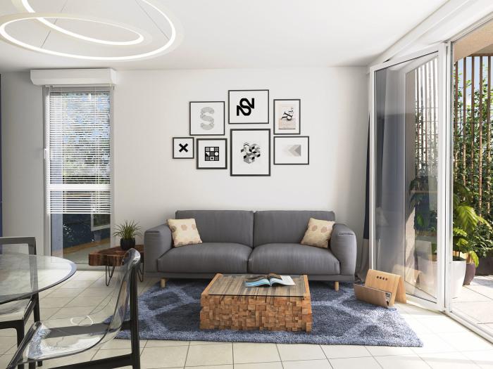 Appartements neufs Vertou référence 5880 : aperçu n°1