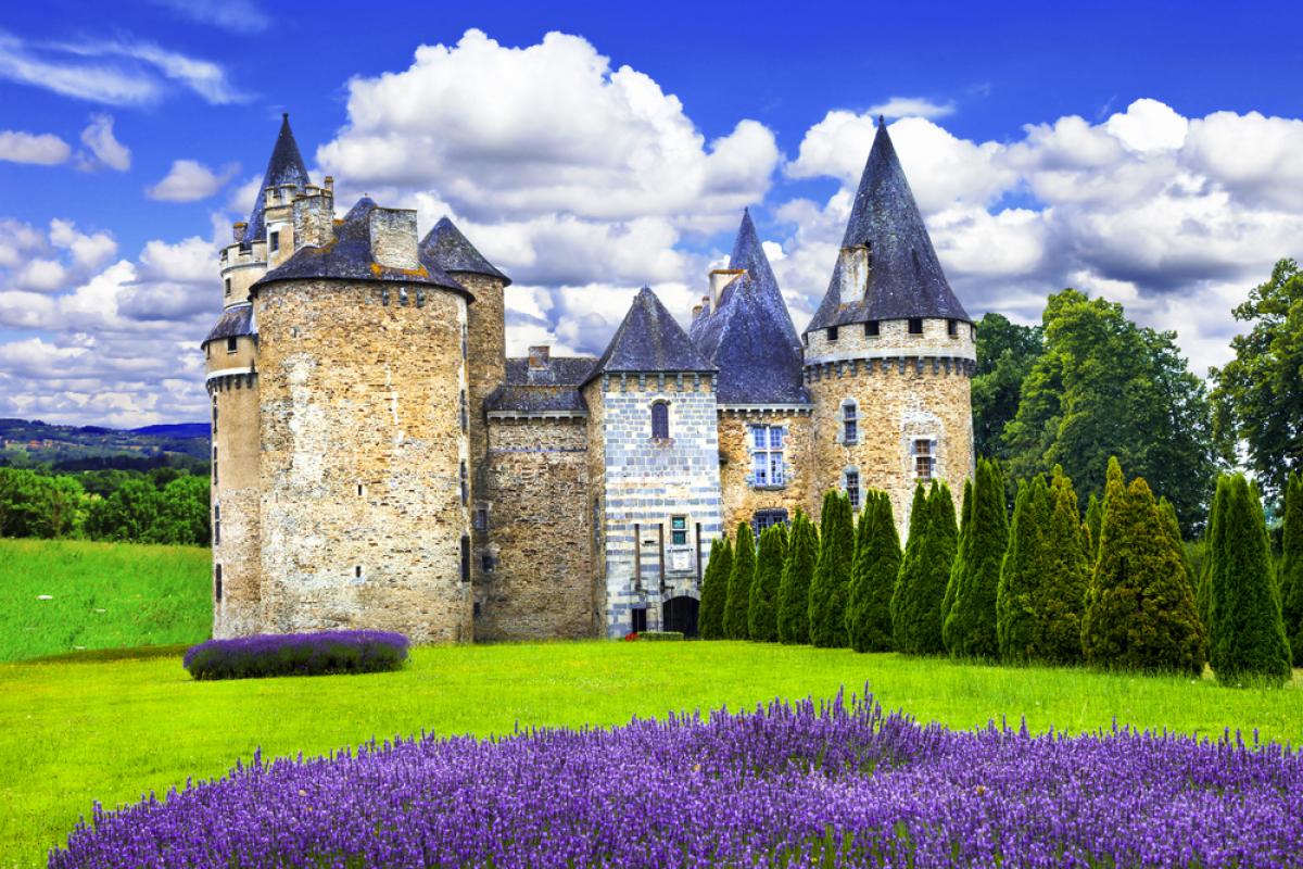 Défiscaliser à Nantes - Château, vieilles pierres et champ de lavande