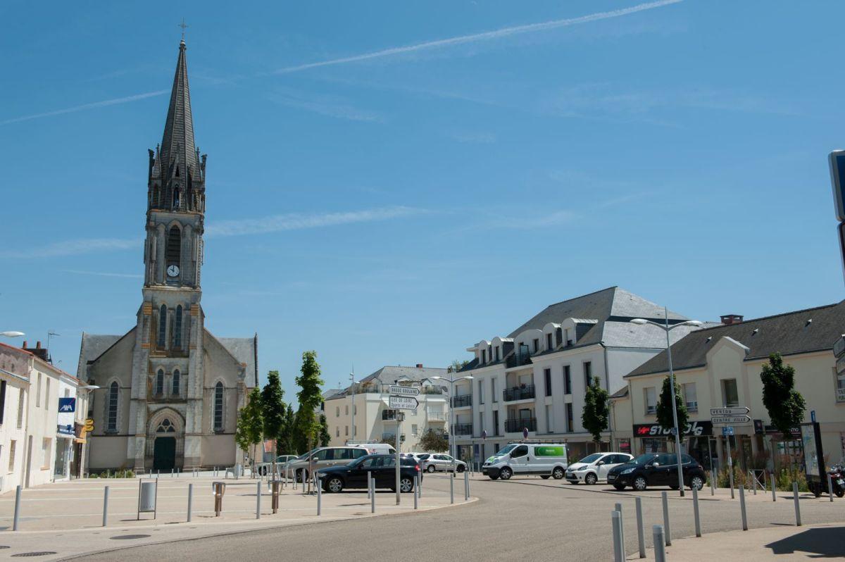 Où investir à Nantes – vue sur le centre-ville de Saint-Sébastien-sur-Loire