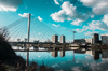 Vue sur la Loire à Nantes