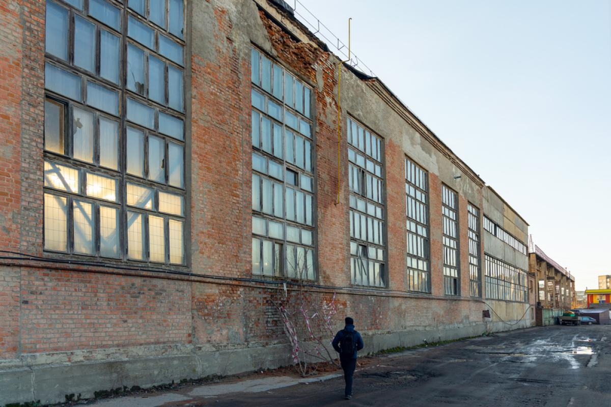 Loi Pinel ancien à Nantes – usine délabrée