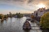 Investir à Nantes – Vue des rues de la ville depuis l'Erdre