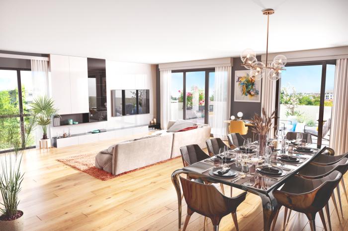 Appartements neufs Zola référence 5885 : aperçu n°1