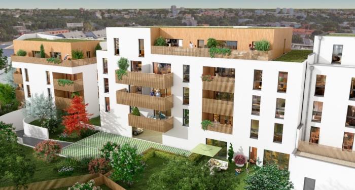 Appartements neufs Saint-Herblain référence 5891 : aperçu n°0