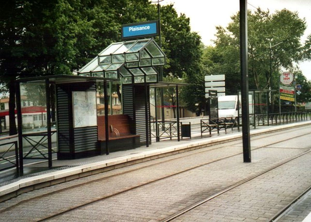 Orvault Plaisance  – arrêt de tramway Plaisance