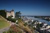 Programme Action Cœur de Ville – Vue sur le château de Saumur en Pays-de-Loire