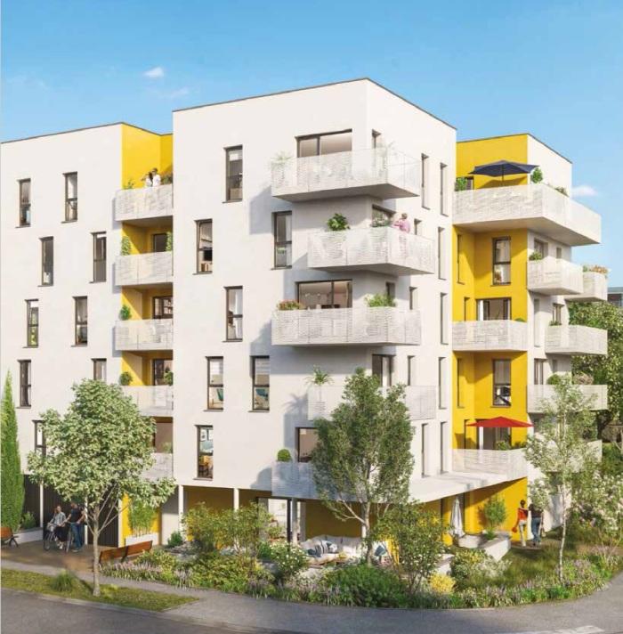 Appartements neufs Erdre référence 5929 : aperçu n°2