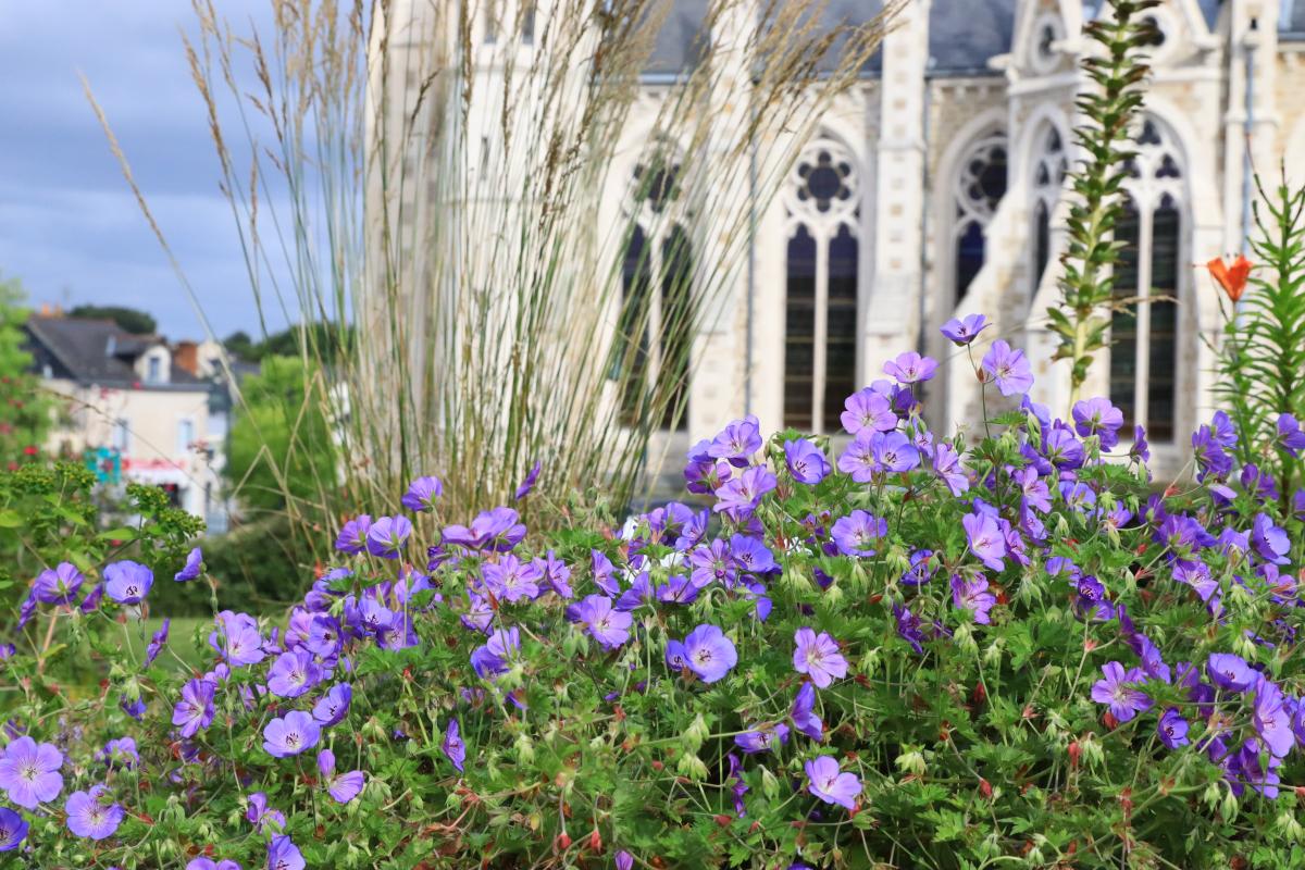 où vivre Nantes –  l'église d'Orvault