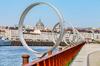 investissement locatif à Nantes –  les anneaux de Daniel Buren et vue sur le Centre-ville