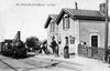 Projet Doulon Gohards - Halte de l'ancienne Gare de Doulon à Nantes dans les années 1900