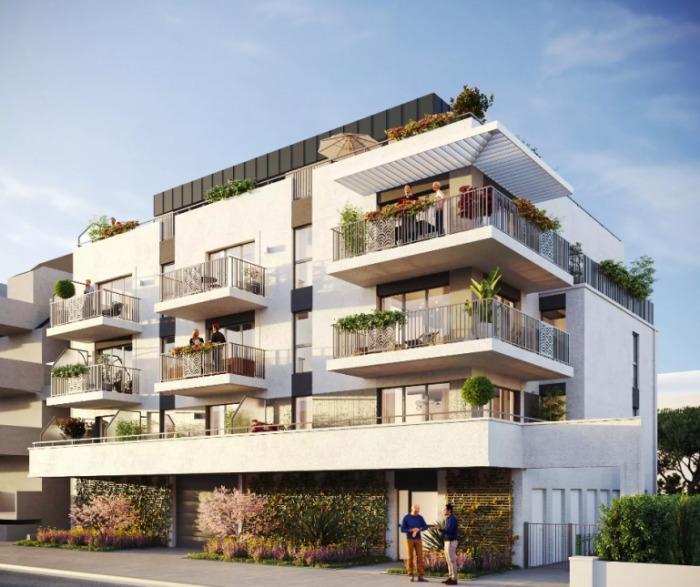 Appartements neufs La Baule-Escoublac référence 5976 : aperçu n°0