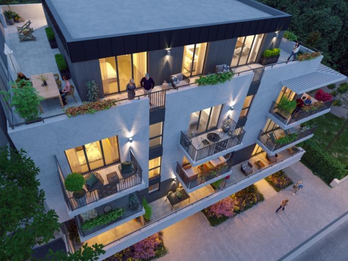 Appartements neufs La Baule-Escoublac référence 5976 : aperçu n°2
