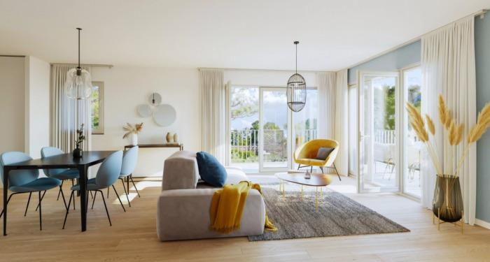 Appartements neufs La Baule-Escoublac référence 5976 : aperçu n°1